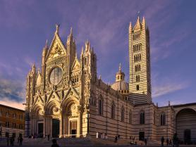 Katedrála Santa Maria Assunta v Sieně, Toskánsko