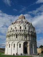 Pisa - baptisterium Battistero di San Giovanni