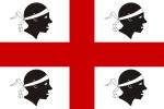 Sardinská vlajka